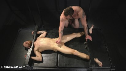 Photo number 14 from Mister Keys Meets his Match with new Switch, Scott Ambrose shot for Bound Gods on Kink.com. Featuring Scott Ambrose and Sebastian Keys in hardcore BDSM & Fetish porn.
