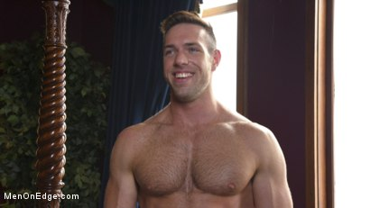 Photo number 15 from Furry Muscular Stud is Bound and Edged on a Pool Table! shot for Men On Edge on Kink.com. Featuring Alex Mecum in hardcore BDSM & Fetish porn.