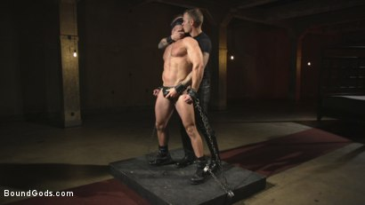 Photo number 1 from The One and Only, Alex Mecum  shot for Bound Gods on Kink.com. Featuring Christian Wilde and Alex Mecum in hardcore BDSM & Fetish porn.