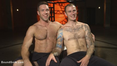 Photo number 15 from The One and Only, Alex Mecum  shot for Bound Gods on Kink.com. Featuring Christian Wilde and Alex Mecum in hardcore BDSM & Fetish porn.