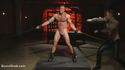 Photo number 6 from The One and Only, Alex Mecum  shot for Bound Gods on Kink.com. Featuring Christian Wilde and Alex Mecum in hardcore BDSM & Fetish porn.