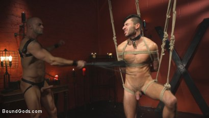 Photo number 7 from The Return of Jessie Colter shot for Bound Gods on Kink.com. Featuring Scott DeMarco and Jessie Colter in hardcore BDSM & Fetish porn.