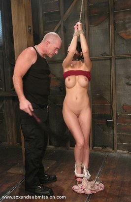 Photo number 2 from Mindy Main shot for Sex And Submission on Kink.com. Featuring Mindy Main and Mark Davis in hardcore BDSM & Fetish porn.