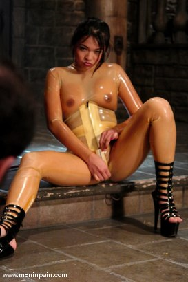 Photo number 7 from Mika Tan and totaleurosex shot for Men In Pain on Kink.com. Featuring Mika Tan and totaleurosex in hardcore BDSM & Fetish porn.