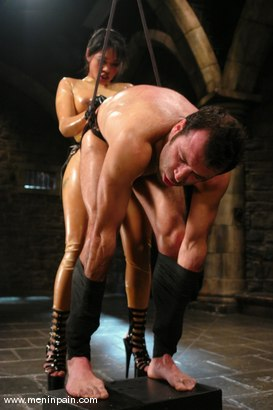 Photo number 13 from Mika Tan and totaleurosex shot for Men In Pain on Kink.com. Featuring Mika Tan and totaleurosex in hardcore BDSM & Fetish porn.