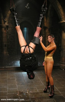 Photo number 2 from Mika Tan and totaleurosex shot for Men In Pain on Kink.com. Featuring Mika Tan and totaleurosex in hardcore BDSM & Fetish porn.