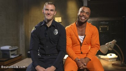 Photo number 1 from Lieutenant Wilde's Extreme Justice shot for Bound Gods on Kink.com. Featuring Christian Wilde and Micah Brandt in hardcore BDSM & Fetish porn.
