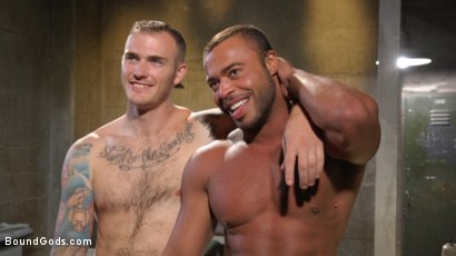 Photo number 15 from Lieutenant Wilde's Extreme Justice shot for Bound Gods on Kink.com. Featuring Christian Wilde and Micah Brandt in hardcore BDSM & Fetish porn.