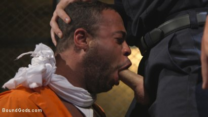 Photo number 4 from Lieutenant Wilde's Extreme Justice shot for Bound Gods on Kink.com. Featuring Christian Wilde and Micah Brandt in hardcore BDSM & Fetish porn.