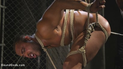 Photo number 8 from Lieutenant Wilde's Extreme Justice shot for Bound Gods on Kink.com. Featuring Christian Wilde and Micah Brandt in hardcore BDSM & Fetish porn.