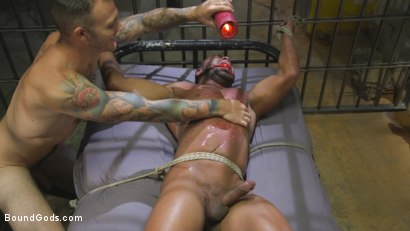 Photo number 10 from Lieutenant Wilde's Extreme Justice shot for Bound Gods on Kink.com. Featuring Christian Wilde and Micah Brandt in hardcore BDSM & Fetish porn.