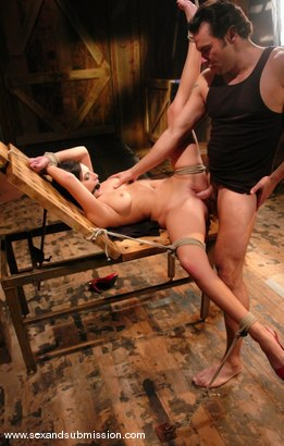 Photo number 11 from Presley Maddox shot for Sex And Submission on Kink.com. Featuring Steven St. Croix and Presley Maddox in hardcore BDSM & Fetish porn.