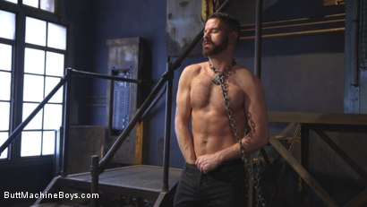 Photo number 1 from Irish hunk submits to the Ass Master and his perverted desires shot for Butt Machine Boys on Kink.com. Featuring Brendan Patrick in hardcore BDSM & Fetish porn.