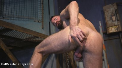 Photo number 2 from Irish hunk submits to the Ass Master and his perverted desires shot for Butt Machine Boys on Kink.com. Featuring Brendan Patrick in hardcore BDSM & Fetish porn.