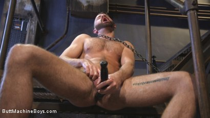Photo number 5 from Irish hunk submits to the Ass Master and his perverted desires shot for Butt Machine Boys on Kink.com. Featuring Brendan Patrick in hardcore BDSM & Fetish porn.