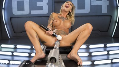 Photo number 3 from ALT Bombshell Gets the Best Fuck of Her Life shot for Fucking Machines on Kink.com. Featuring Kleio Valentien in hardcore BDSM & Fetish porn.
