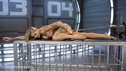 Photo number 6 from ALT Bombshell Gets the Best Fuck of Her Life shot for Fucking Machines on Kink.com. Featuring Kleio Valentien in hardcore BDSM & Fetish porn.