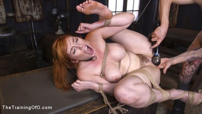 Photo number 18 from Slave Training Lauren Phillips: Your Whore, Your Cunt, Your Bitch shot for The Training Of O on Kink.com. Featuring Owen Gray and Lauren Phillips in hardcore BDSM & Fetish porn.