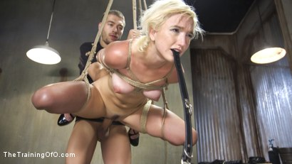 Photo number 11 from Slave Training of Eliza Jane shot for The Training Of O on Kink.com. Featuring Xander Corvus and Eliza Jane in hardcore BDSM & Fetish porn.
