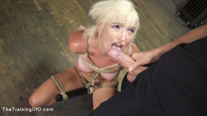 Photo number 7 from Slave Training of Eliza Jane shot for The Training Of O on Kink.com. Featuring Xander Corvus and Eliza Jane in hardcore BDSM & Fetish porn.