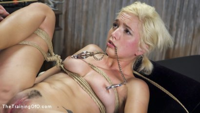 Photo number 24 from Slave Training of Eliza Jane shot for The Training Of O on Kink.com. Featuring Xander Corvus and Eliza Jane in hardcore BDSM & Fetish porn.