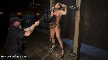 Photo number 12 from ARIEL-FUCKING-X SUBMITS!!! shot for Device Bondage on Kink.com. Featuring Ariel X and The Pope in hardcore BDSM & Fetish porn.