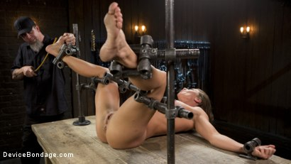 Photo number 5 from ARIEL-FUCKING-X SUBMITS!!! shot for Device Bondage on Kink.com. Featuring Ariel X and The Pope in hardcore BDSM & Fetish porn.