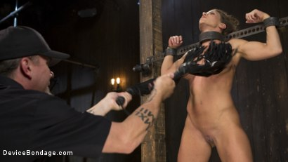 Photo number 9 from ARIEL-FUCKING-X SUBMITS!!! shot for Device Bondage on Kink.com. Featuring Ariel X and The Pope in hardcore BDSM & Fetish porn.