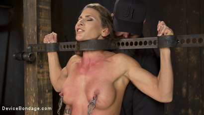 Photo number 10 from ARIEL-FUCKING-X SUBMITS!!! shot for Device Bondage on Kink.com. Featuring Ariel X and The Pope in hardcore BDSM & Fetish porn.