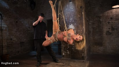 Photo number 20 from ALT Tattooed Pain Slut Submits in Grueling Bondage shot for Hogtied on Kink.com. Featuring Kleio Valentien in hardcore BDSM & Fetish porn.