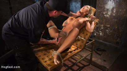 Photo number 31 from ALT Tattooed Pain Slut Submits in Grueling Bondage shot for Hogtied on Kink.com. Featuring Kleio Valentien in hardcore BDSM & Fetish porn.