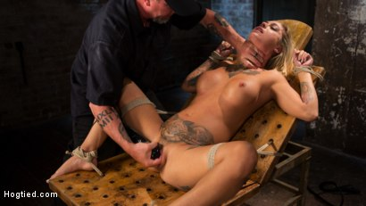 Photo number 34 from ALT Tattooed Pain Slut Submits in Grueling Bondage shot for Hogtied on Kink.com. Featuring Kleio Valentien in hardcore BDSM & Fetish porn.