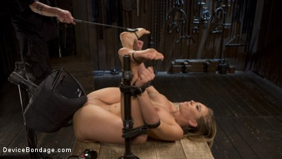 Photo number 15 from Making of a Masochist   shot for Device Bondage on Kink.com. Featuring Kagney Linn Karter and The Pope in hardcore BDSM & Fetish porn.