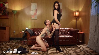 Photo number 19 from Amanda Jade's debut on TS Seduction! shot for TS Seduction on Kink.com. Featuring Will Havoc and Amanda Jade in hardcore BDSM & Fetish porn.