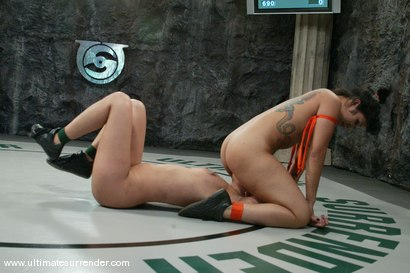 Photo number 12 from The Dragon (21-5) Ranked 2nd<br>The Scorpion(1-4) Ranked 14th shot for Ultimate Surrender on Kink.com. Featuring DragonLily and Annie Cruz in hardcore BDSM & Fetish porn.