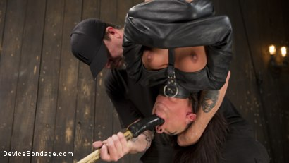 Photo number 8 from Fresh Meat - Amara Romani is Dominated in Inescapable Bondage  shot for Device Bondage on Kink.com. Featuring Amara Romani and The Pope in hardcore BDSM & Fetish porn.
