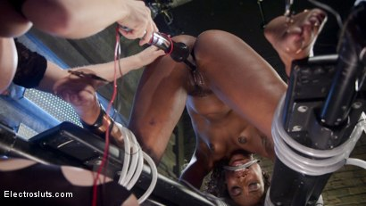 Photo number 8 from Shock the System: Sexual deviant bound & lesbian electrosexed! shot for Electro Sluts on Kink.com. Featuring Chanel Preston and Chanell Heart in hardcore BDSM & Fetish porn.