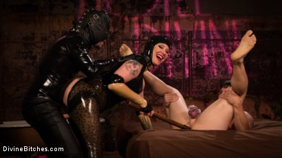 Photo number 12 from Reservation: Cuckold shot for Divine Bitches on Kink.com. Featuring Maitresse Madeline Marlowe , Rick Fantana and Tommy Pistol in hardcore BDSM & Fetish porn.