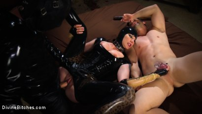 Photo number 3 from Reservation: Cuckold shot for Divine Bitches on Kink.com. Featuring Maitresse Madeline Marlowe , Rick Fantana and Tommy Pistol in hardcore BDSM & Fetish porn.