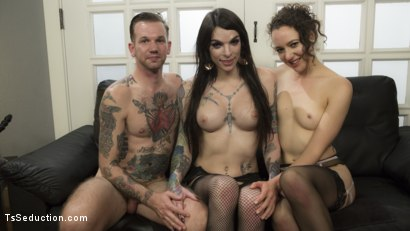 Photo number 10 from Hot, Slutty TS Lady Barges into Sex Shop to Fuck and Suck the Staff! shot for TS Seduction on Kink.com. Featuring Chelsea Marie, Lilith Luxe and Will Havoc in hardcore BDSM & Fetish porn.