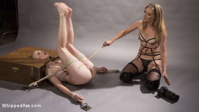 Photo number 7 from Pervy Photographer: Hot babe bound, spanked, & anally strap-on fucked! shot for Whipped Ass on Kink.com. Featuring Riley Nixon and Mona Wales in hardcore BDSM & Fetish porn.