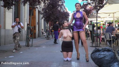 Photo number 11 from Zenda Sexy: Walk of Shame shot for Public Disgrace on Kink.com. Featuring Steve Holmes, Zenda Sexy, Yasmin Scott and Antonio Ross in hardcore BDSM & Fetish porn.