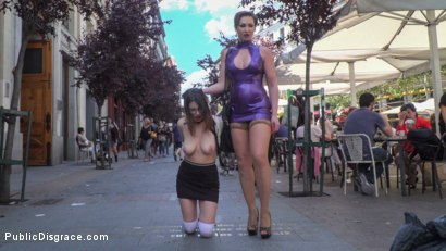 Photo number 10 from Zenda Sexy: Walk of Shame shot for Public Disgrace on Kink.com. Featuring Steve Holmes, Zenda Sexy, Yasmin Scott and Antonio Ross in hardcore BDSM & Fetish porn.