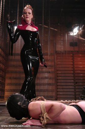 Photo number 2 from Rick Hunt and Lady Lydia McLane shot for Men In Pain on Kink.com. Featuring Lady Lydia McLane and Rick Hunt in hardcore BDSM & Fetish porn.