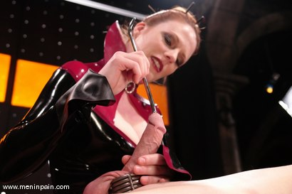 Photo number 9 from Rick Hunt and Lady Lydia McLane shot for Men In Pain on Kink.com. Featuring Lady Lydia McLane and Rick Hunt in hardcore BDSM & Fetish porn.