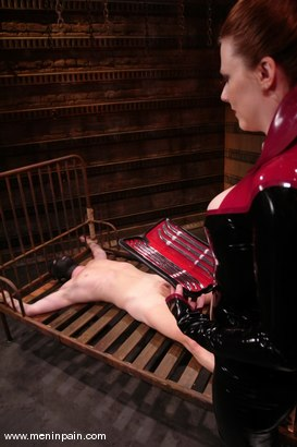 Photo number 6 from Rick Hunt and Lady Lydia McLane shot for Men In Pain on Kink.com. Featuring Lady Lydia McLane and Rick Hunt in hardcore BDSM & Fetish porn.