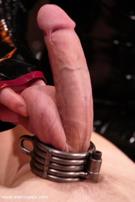 Photo number 7 from Rick Hunt and Lady Lydia McLane shot for Men In Pain on Kink.com. Featuring Lady Lydia McLane and Rick Hunt in hardcore BDSM & Fetish porn.