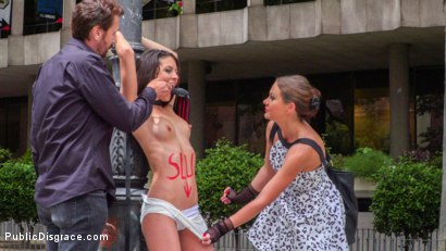 Photo number 11 from Rope Bondage Slut Loves to be Tied Up in Public shot for Public Disgrace on Kink.com. Featuring Steve Holmes, Antonio Ross, Carolina Abril and Tina Kay in hardcore BDSM & Fetish porn.