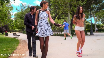 Photo number 7 from Rope Bondage Slut Loves to be Tied Up in Public shot for Public Disgrace on Kink.com. Featuring Steve Holmes, Antonio Ross, Carolina Abril and Tina Kay in hardcore BDSM & Fetish porn.