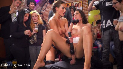 Photo number 13 from Public Slut Works the Crowd shot for Public Disgrace on Kink.com. Featuring Steve Holmes, Antonio Ross, Carolina Abril and Tina Kay in hardcore BDSM & Fetish porn.